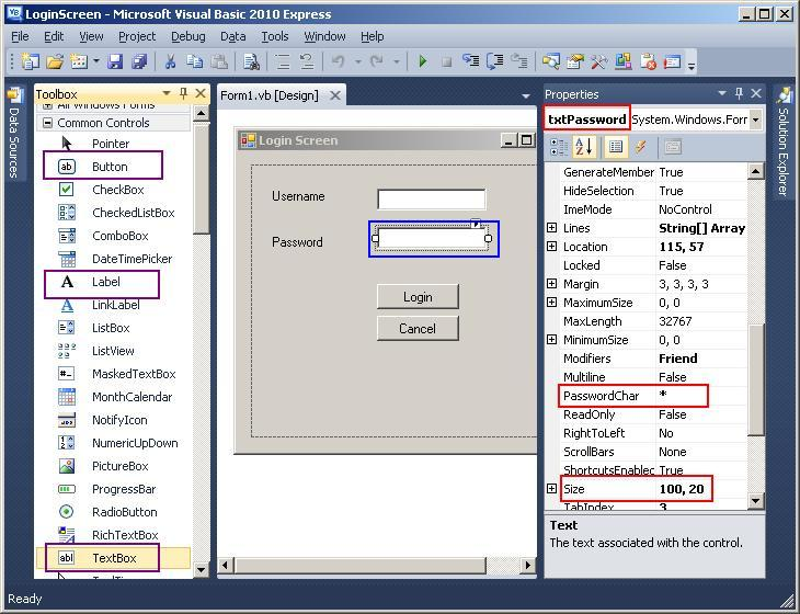 download an application form visual basic