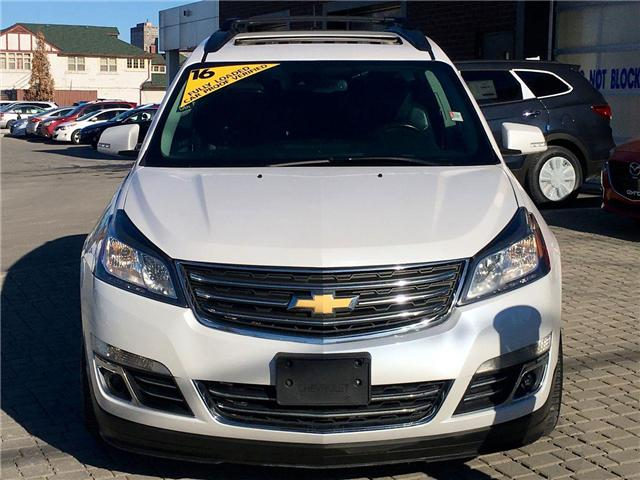 2016 chevrolet traverse ltz owners manual