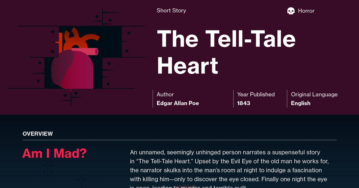1 the tell-tale heart questions and answers pdf