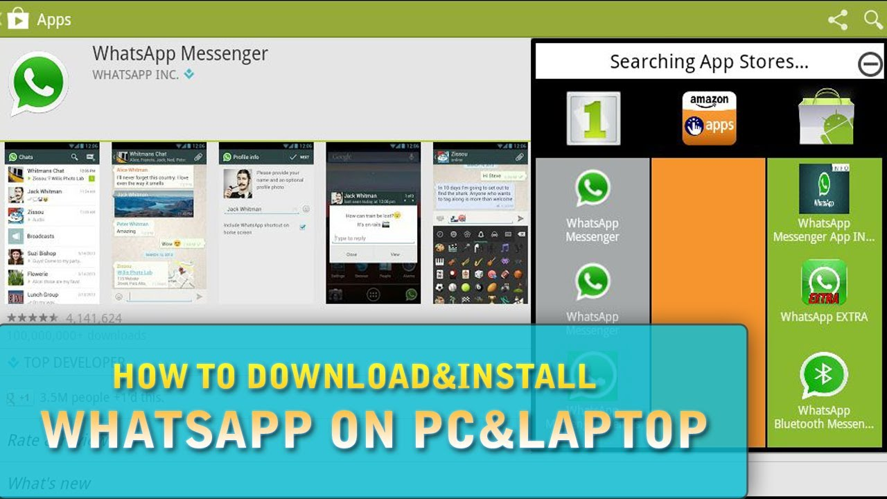 whatsapp application download for pc