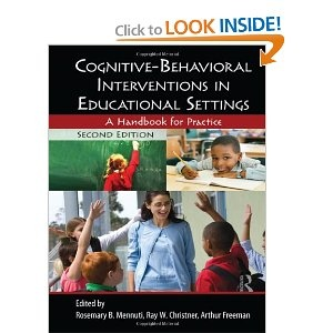 cognitive-behavioral interventions in educational settings a handbook for
