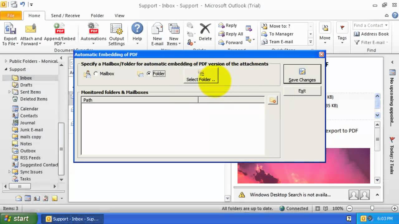 how to add attachments to pdf