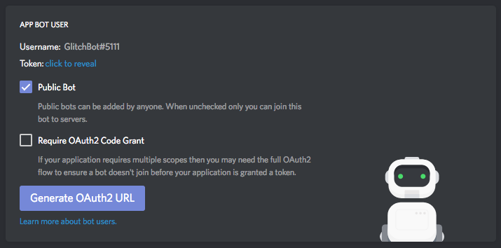 discord application building a sweet new app
