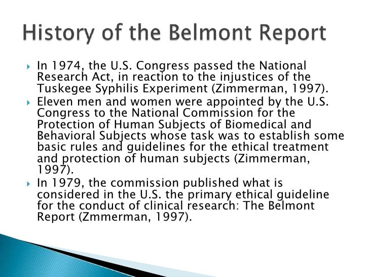 informed consent is considered an application of which belmont principle