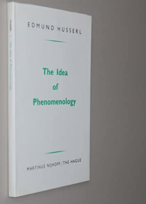 edmund husserl idea phenomenology pdf
