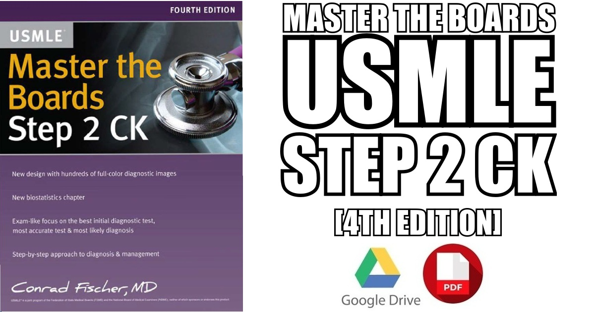 master the boards step 2 ck 4th edition pdf