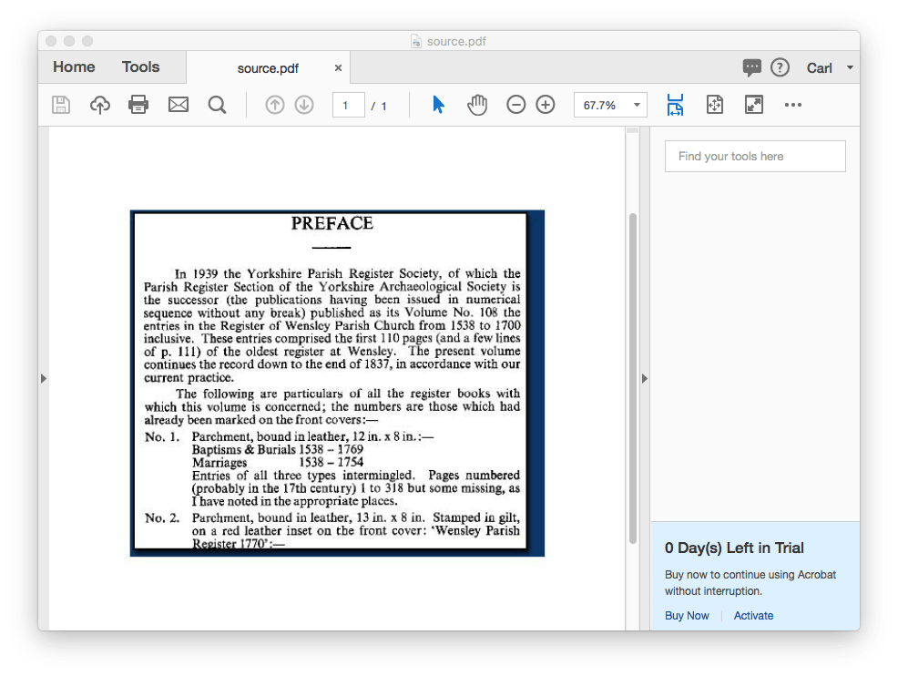 create pdf with 2 scanned photos