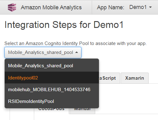 how to modify the application pool in amazon